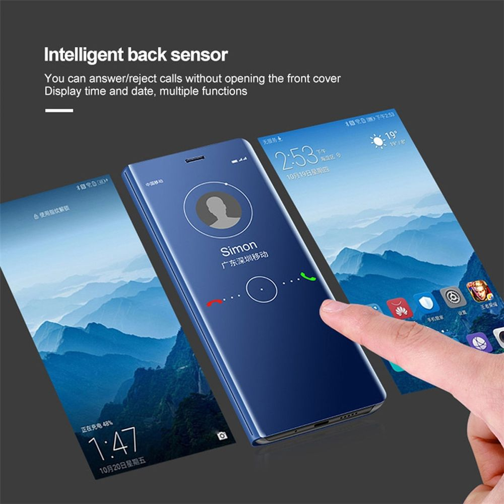 Interaktivní flipový obal pro Xiaomi Mi 8