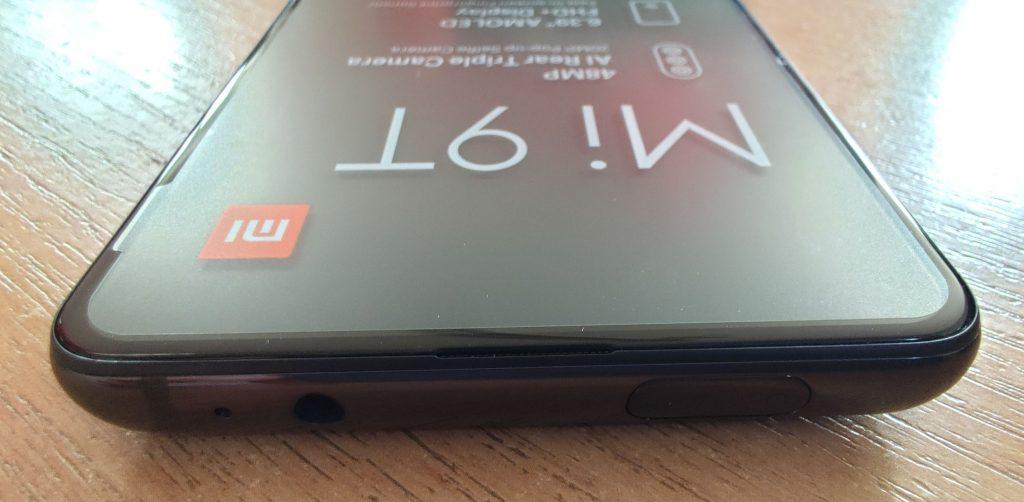 Horní hrana Xiaomi Mi 9T