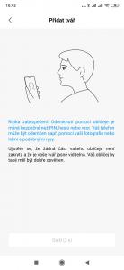 Odemykání telefonu tváří