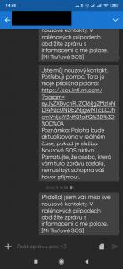 Tísňová SMS