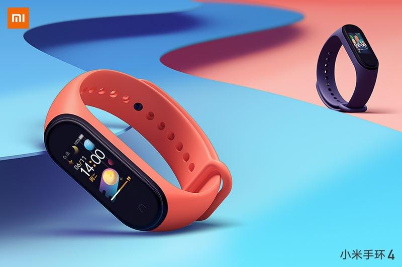 Xiaomi Mi Band 4 nový chytrý náramek oficiálně představen!