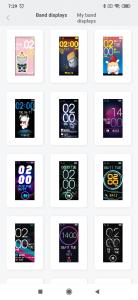 Číselníky pro Xiaomi Mi Band 4