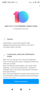 Aktualizace MIUI pro Xiaomi Mi 9 přináší novinky na zamykací obrazovce