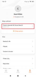 Otevřete Chytrý náramek Mi Smart Band 4