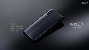 Xiaomi CC9 v černé barvě