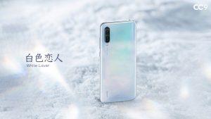 Xiaomi CC9 v bílé barvě
