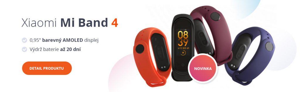 Xiaomi Mi Band 4 v e-shopu XM.cz