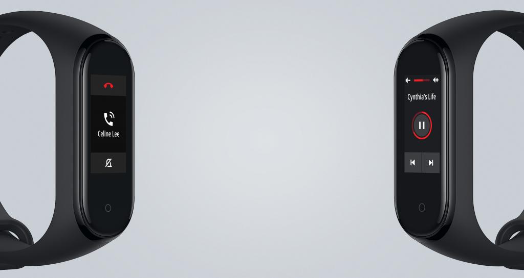 Z náramku lze ovládat hudbu a umí zobrazovat jméno volajícího