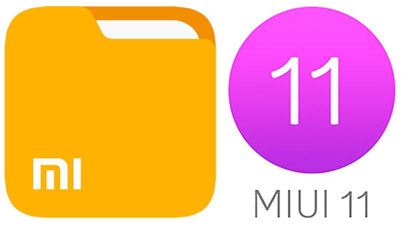 Aplikace Správce souborů dostane v MIUI 11 úplně nový vzhled