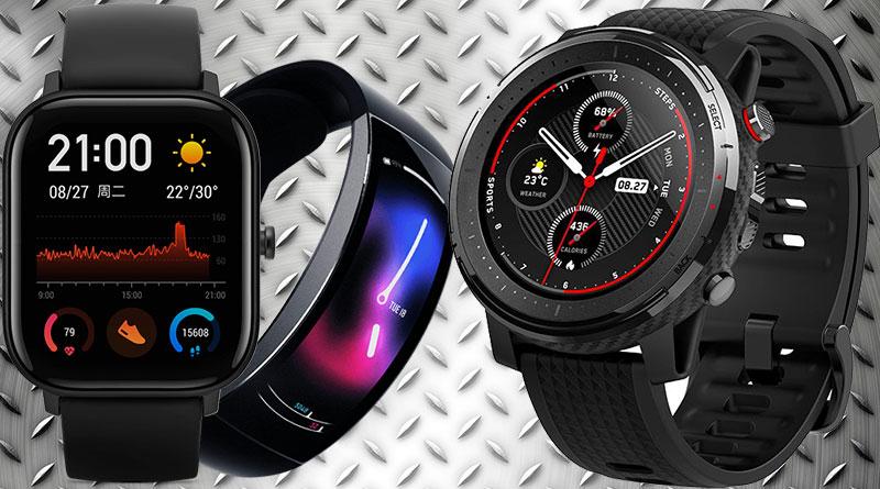 3 (ne)známé produkty Xiaomi: troje nové chytré hodinky