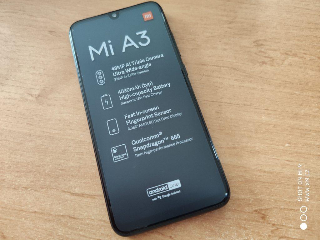 Hlavní lákadla Xiaomi Mi A3