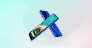 Xiaomi Mi A3 - modrá verze