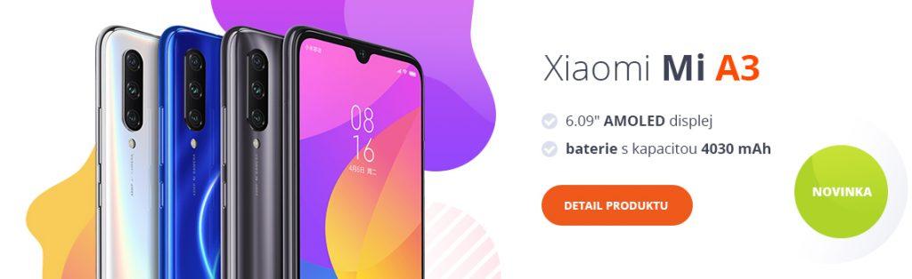 Kupte si Xiaomi Mi A3 v našem e-shopu!