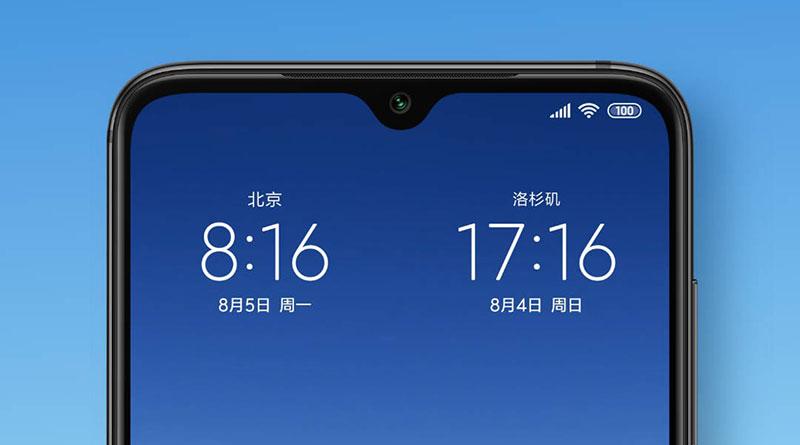 MIUI 10 bude umět zobrazit na domovské obrazovce čas pro dvě místa