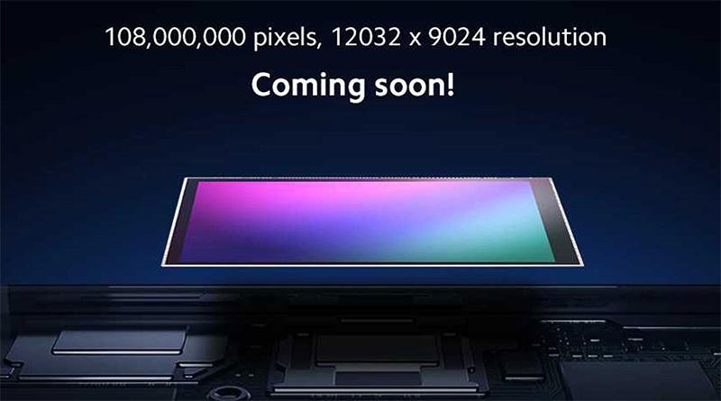 Xiaomi Mi MIX 4 108MPx senzor