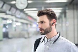 Xiaomi Mi Noise Reduction Collar Headset - sluchátka s potlačením hluku