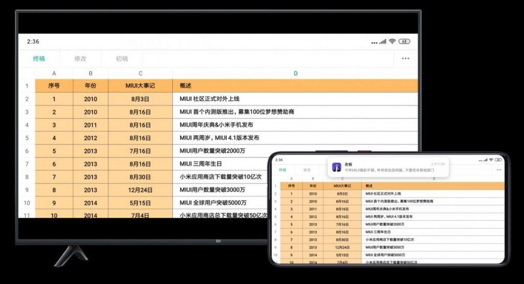 Odesílání obsahu obrazovky do dalších zařízení