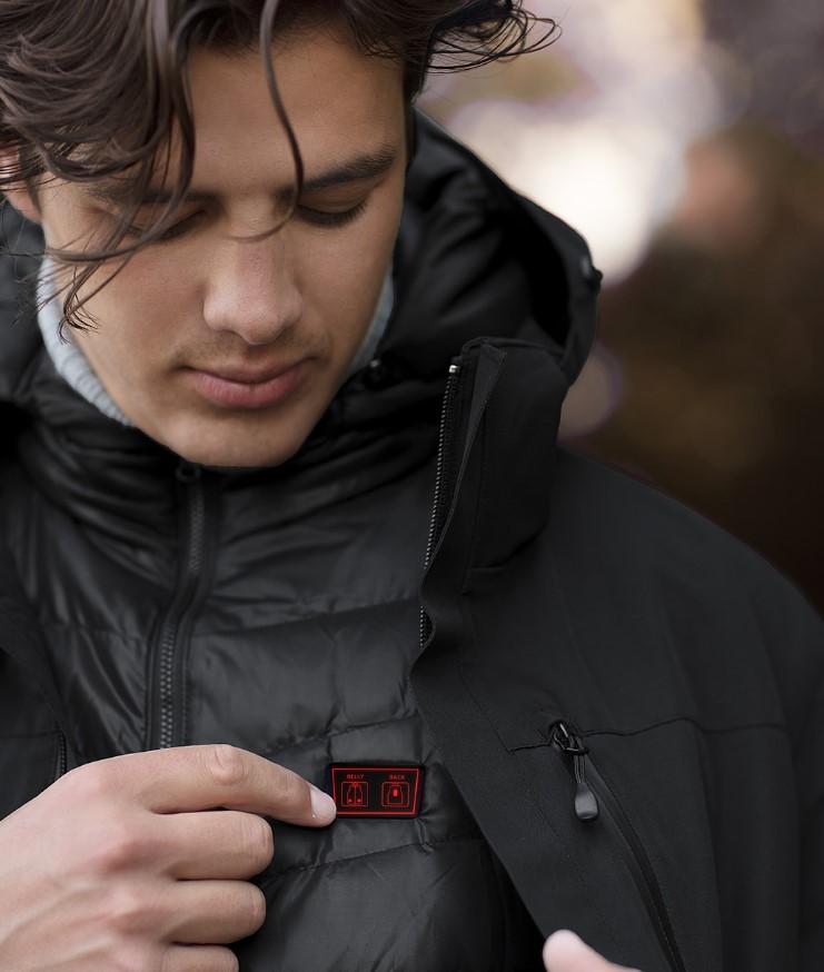 Xiaomi Cottonsmith 3-in-1 - vyhřívaná bunda