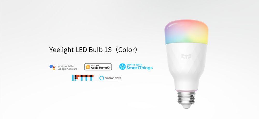 Chytrá žárovka Yeelight LED Bulb 1S (barevná)