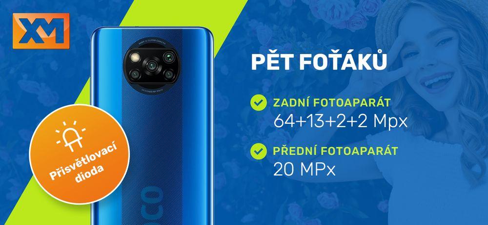 Chytrý telefon Poco X3