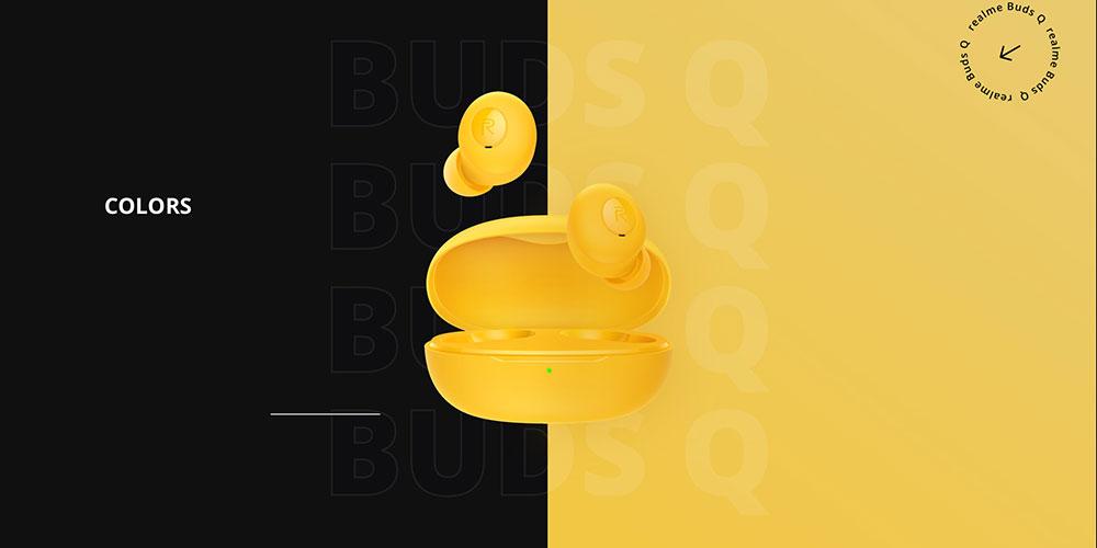 Bezdrátová sluchátka realme Buds Q