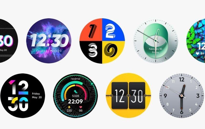 Chytré hodinky Realme Watch S