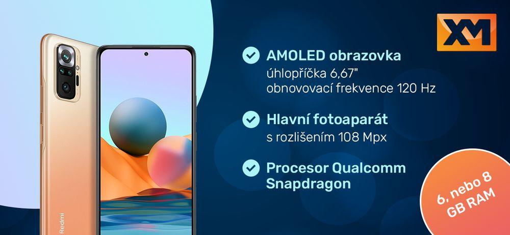 Chytrý telefon Redmi Note 10 Pro