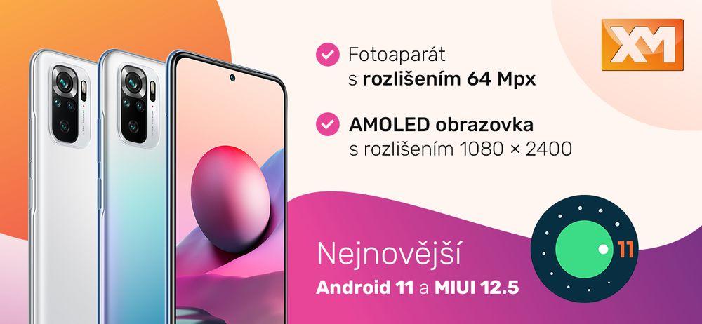Chytrý telefon Redmi Note 10S