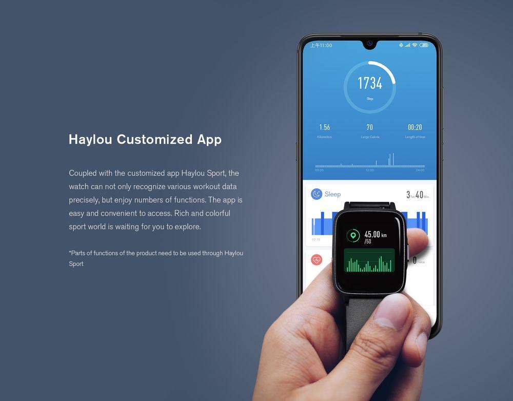 Chytré hodinky Xiaomi Haylou LS01