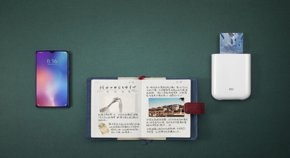 Přenosná bezdrátová tiskárna Xiaomi Mi Portable Photo Printer