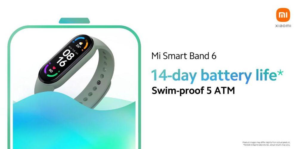 Chytrý náramek Xiaomi Mi Band 6