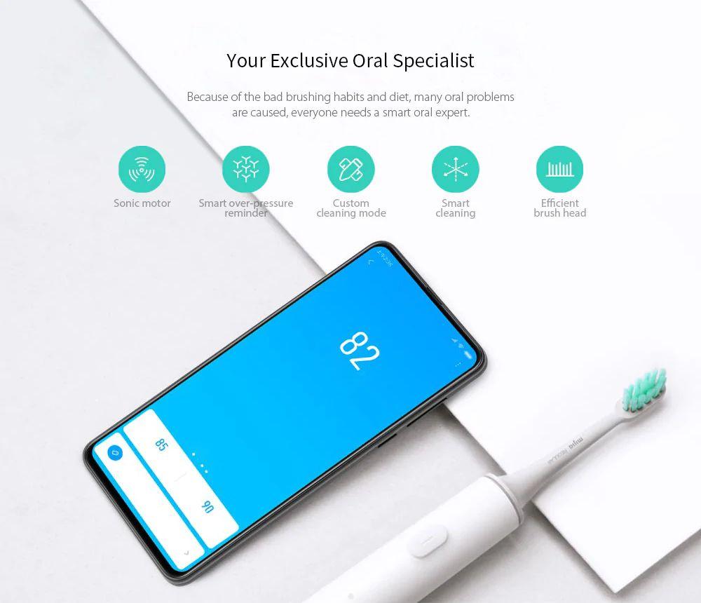 Elektrický zubní kartáček Xiaomi Mi Smart Electric Toothbrush T500