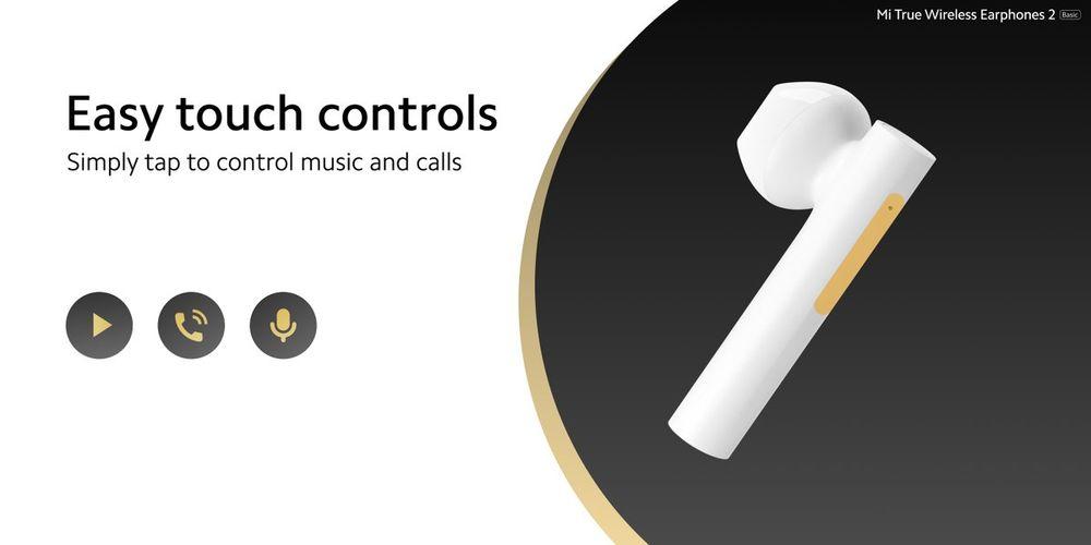 Bezdrátová sluchátka Xiaomi Mi True Wireless Earphones 2 Basic