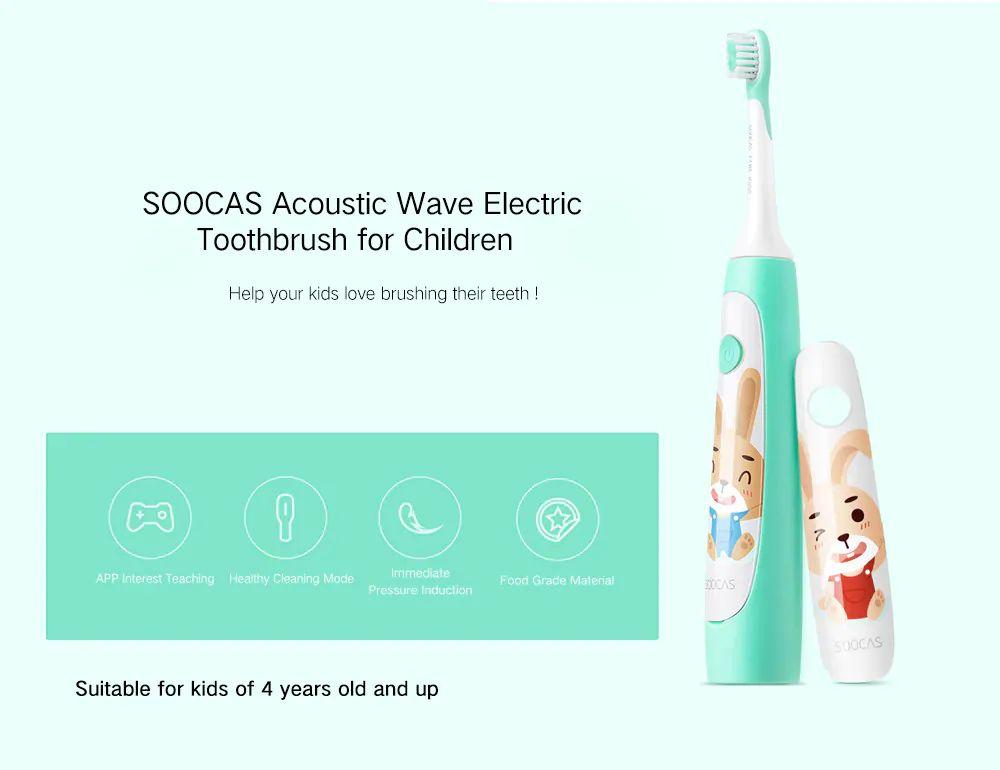 Dětský elektrický zubní kartáček Xiaomi Soocas C1