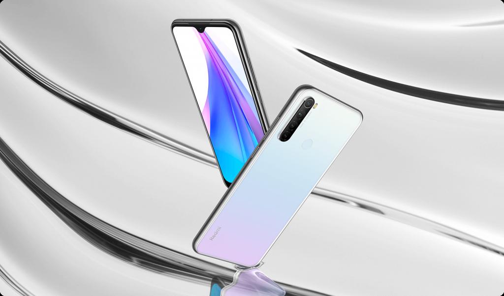 Redmi Note 8T v bílé