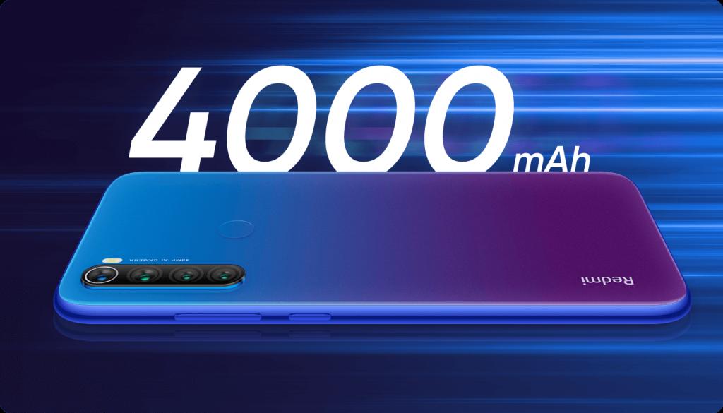Telefon je osazen akumulátorem s kapacitou 4000 mAh