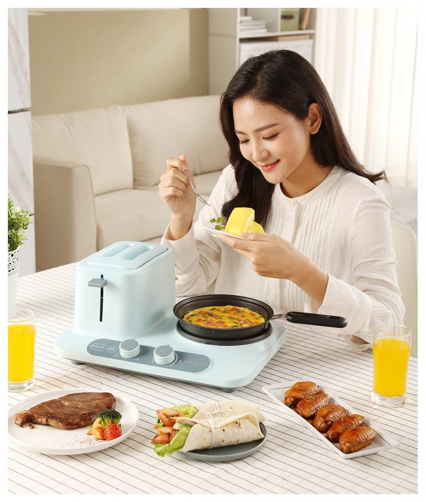 Xiaomi Donlim Multi-function Breakfast Machine - snídaňový set