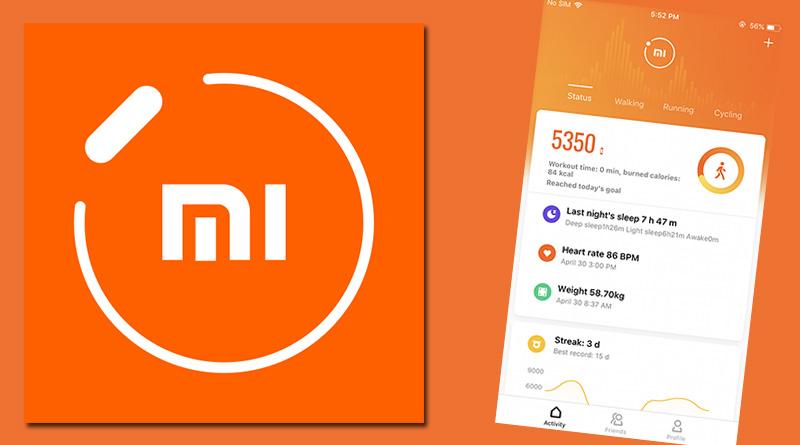 Aktualizace aplikace Mi Fit vylepšuje kompatibilitu s Androidem 10 i iOS 13