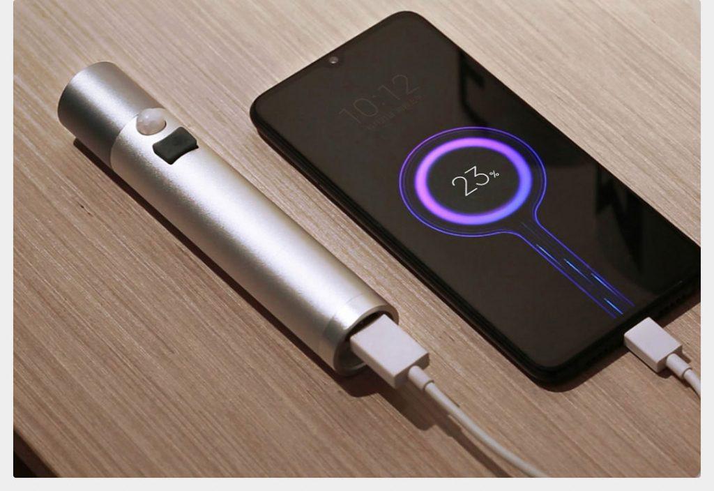 Xiaomi NexTool poslouží jako powerbanka