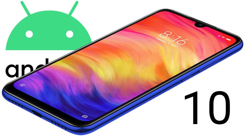 Telefony Redmi Note 7 brzy dostanou aktualizaci na Android 10