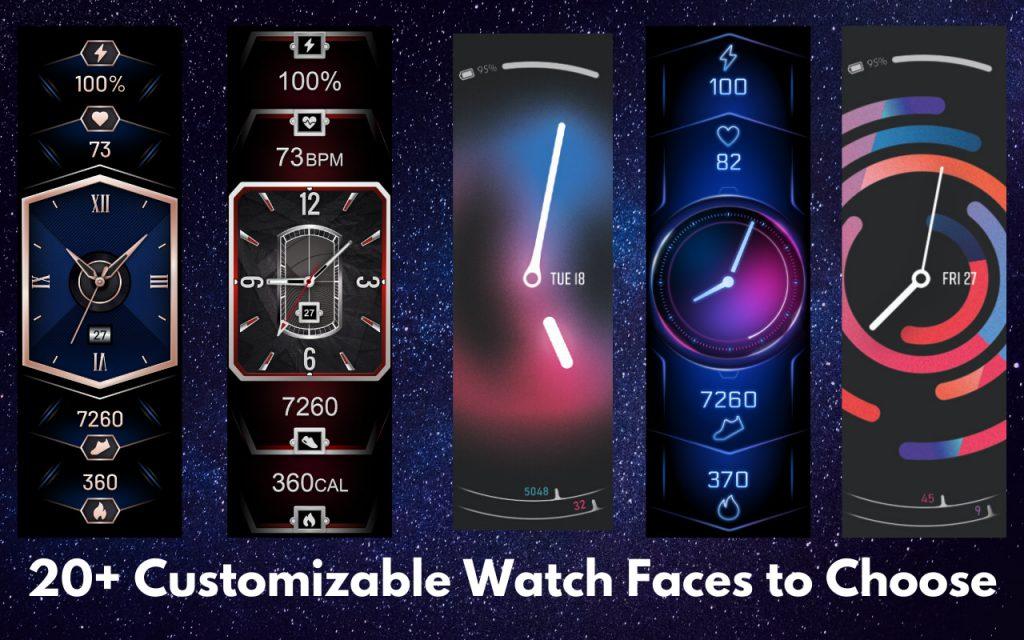 Vzhled Xiaomi Amazfit X bude možné změnit pomocí více než dvaceti ciferníků