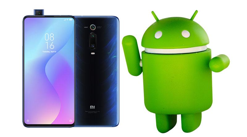 Telefony Xiaomi Mi 9T dostávají aktualizaci na Android 10
