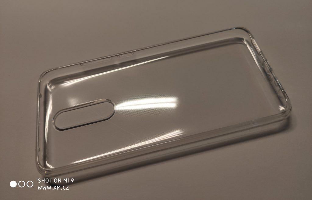 Transparentní silikonový obal