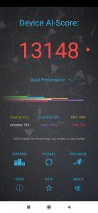 Výsledky Redmi Note 8 Pro v AI Benchmarku