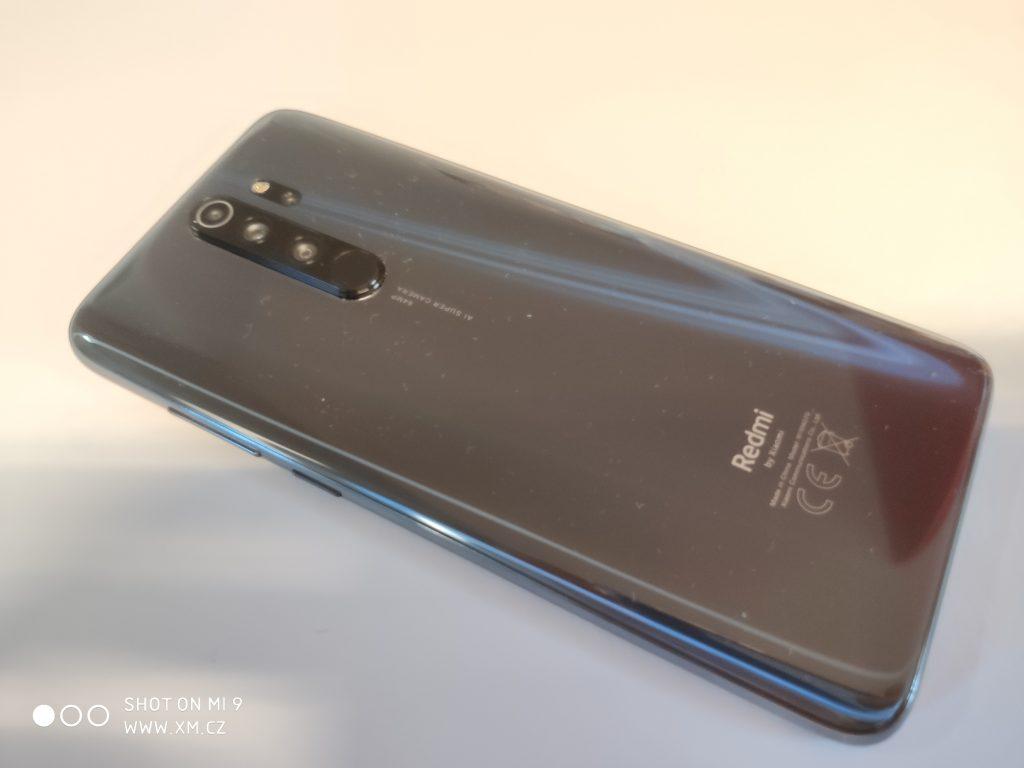 Zadní strana telefonu Redmi Note 8 Pro