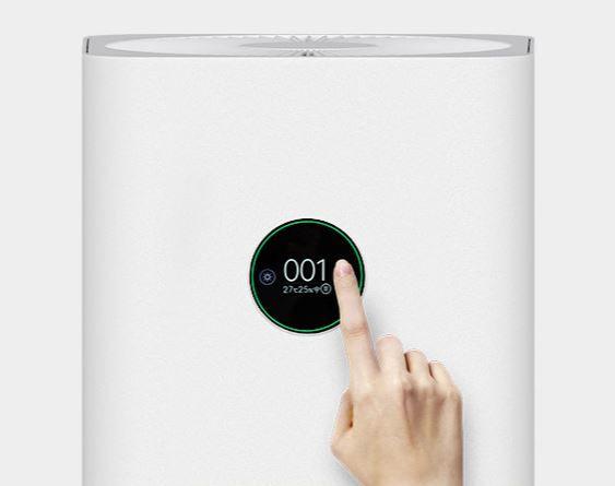 Kruhový LCD displej