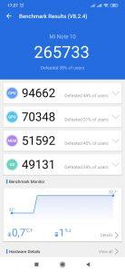 Xiaomi Mi Note 10 - AnTuTu Benchmark