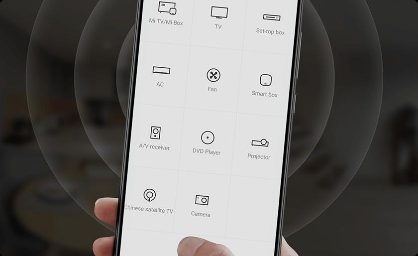 Xiaomi Mi Note 10 může fungovat jako dálkový ovladač