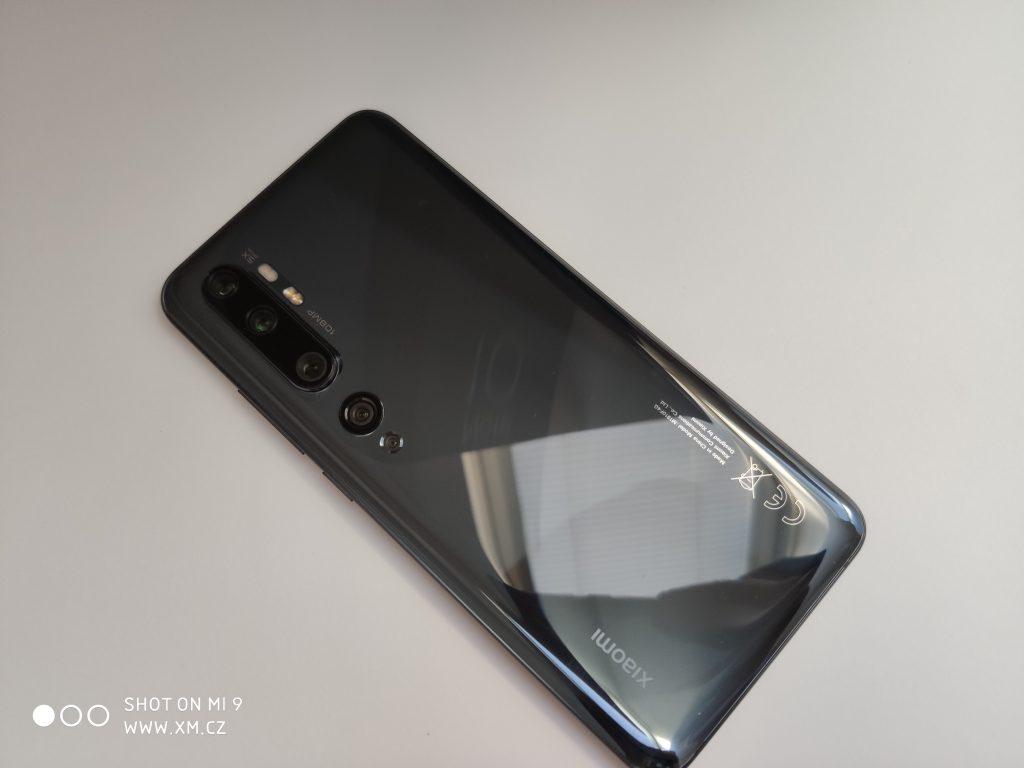 Xiaomi Mi Note 10 zezadu