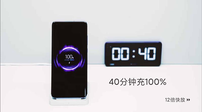Xiaomi ukázalo 40W bezdrátovou nabíječku. Mobil nabije za 40 minut